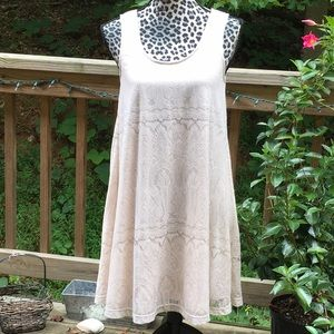 Altair's State Cream Lace Low Dip Tie Back Swing S